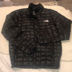 The north face black puffer